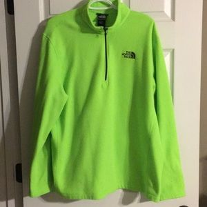 Mens North face pull over